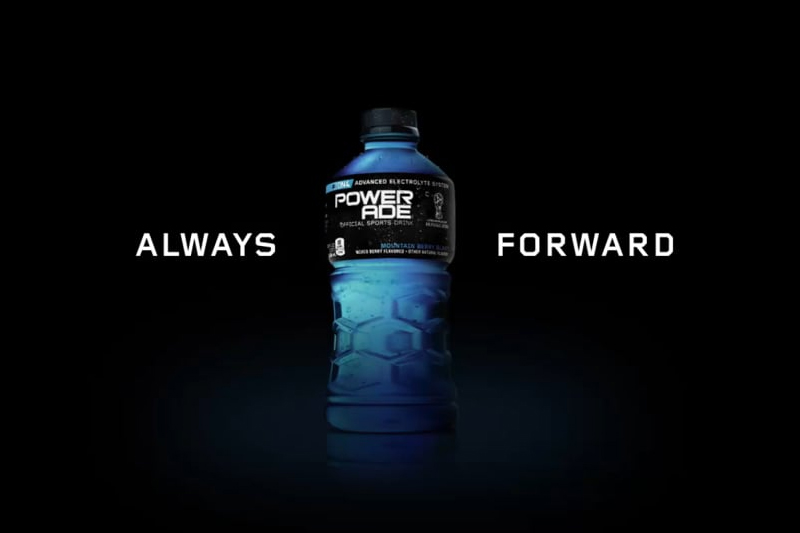 Powerade - Always forward